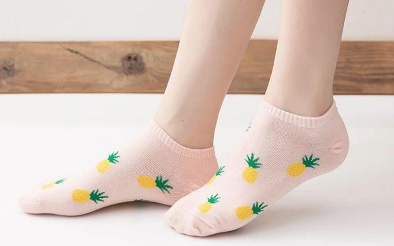 Unisex Ankle Pineapple Socks