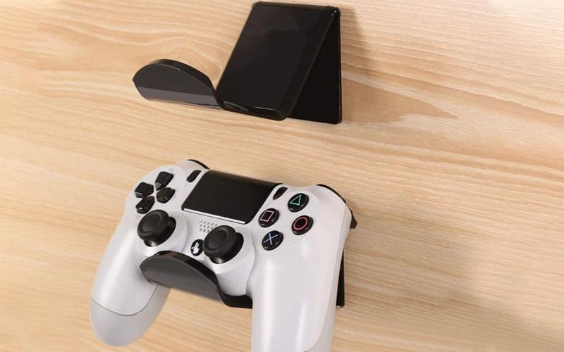 Xbox One, PS4, Nintendo Game Controller Holder Wall Mounts & Desk Mounts