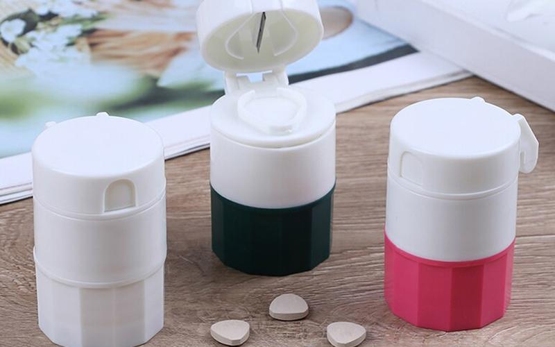 2-in-1 Twist Pill Crusher & Cutter