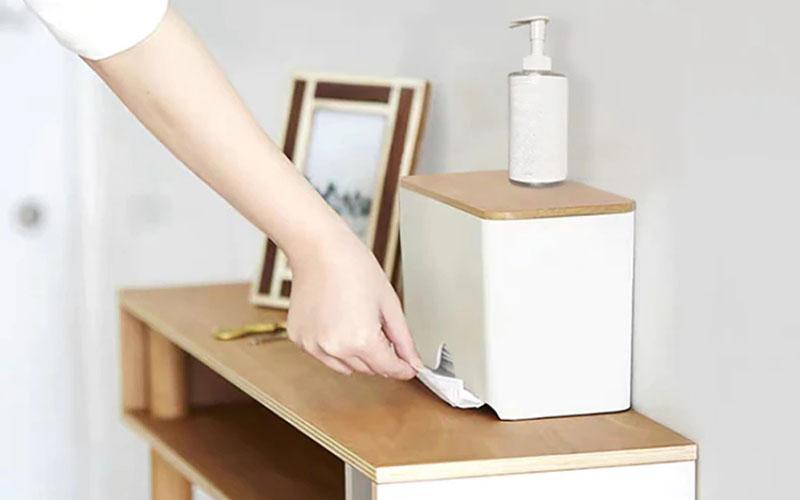 Face Mask Dispenser Stand
