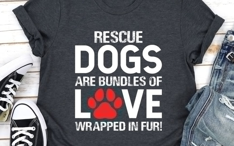 Rescue Dogs Are Bundles of Love