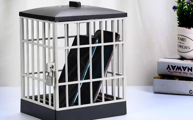 Cell Phone Jail Timed Box