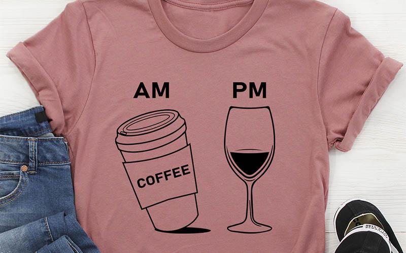 Coffee & Wine Tee