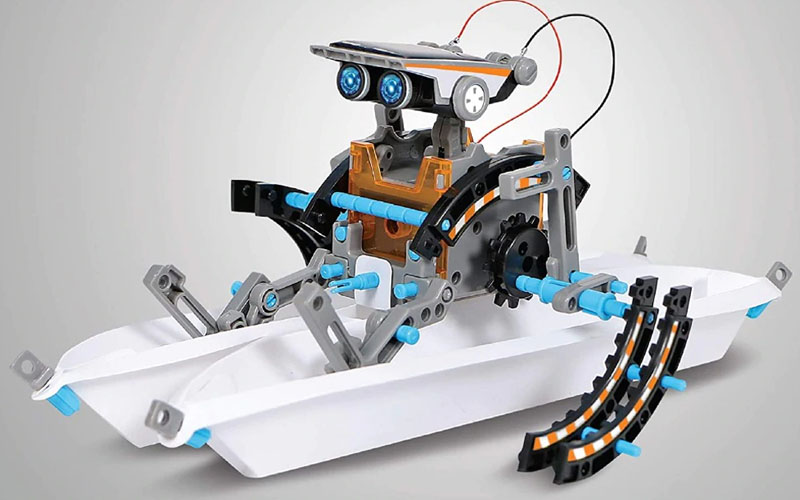 DIY Educational 12-in-1 Solar Robotic Kits