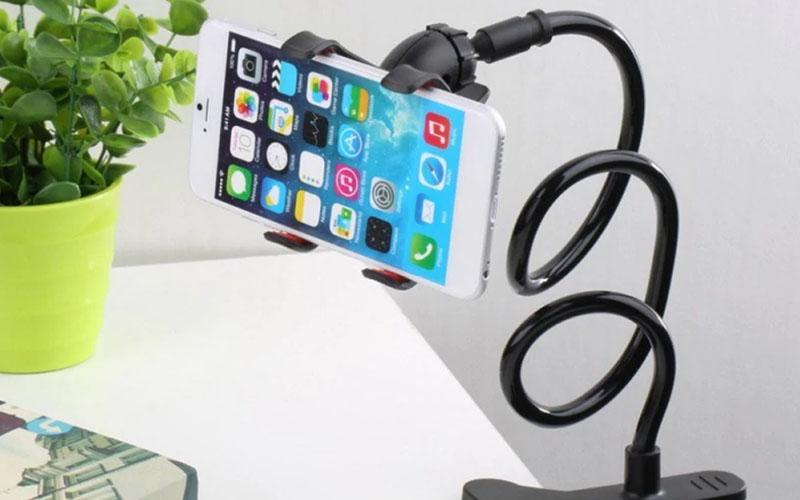 Flexible Phone Holder For Bed, Desks & Side Tables