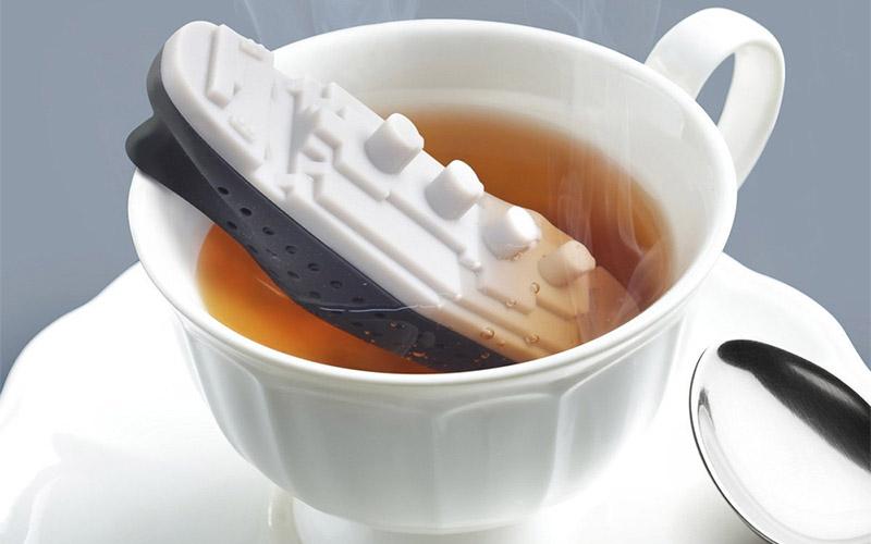 Food Grade Unsinkable Titanic Tea Infuser
