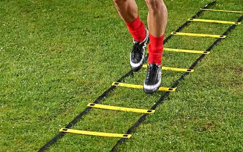 Foot Speed Ladder For Sprinting & Motion Control