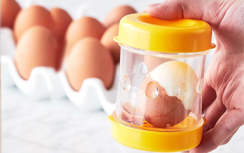 Hard-Boiled Egg Shell Peeler