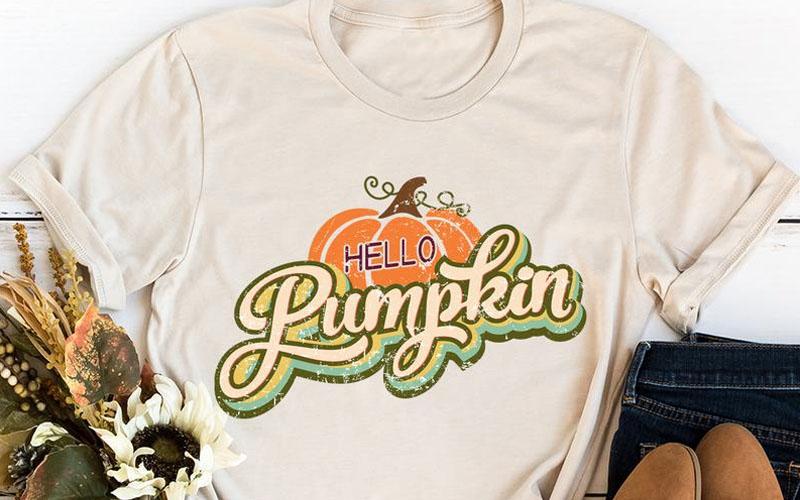 Hello Pumpkin Tee