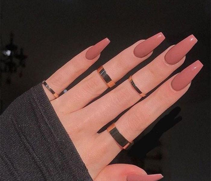 long Coffin Nails Idea 1