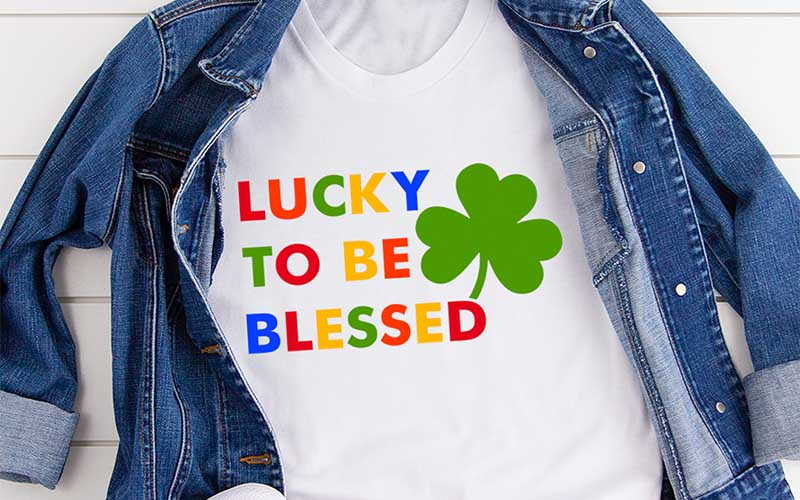 Lucky-To-Be-Blessed-Tee