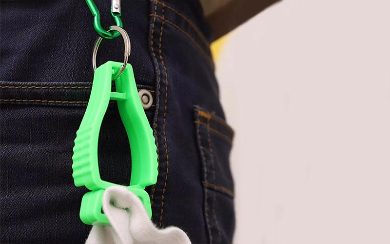 Multifunctional Glove Holder Belt Clip