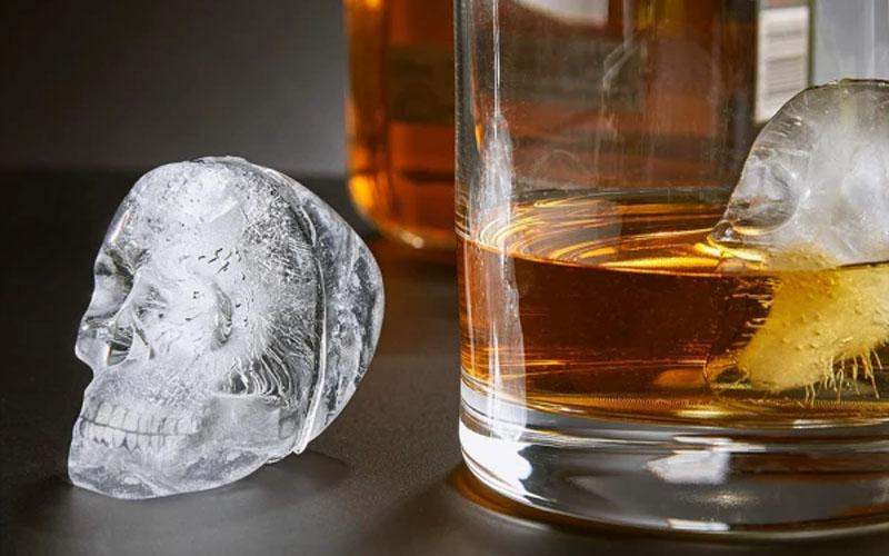 Multipurpose 3d Skull Ice Mold