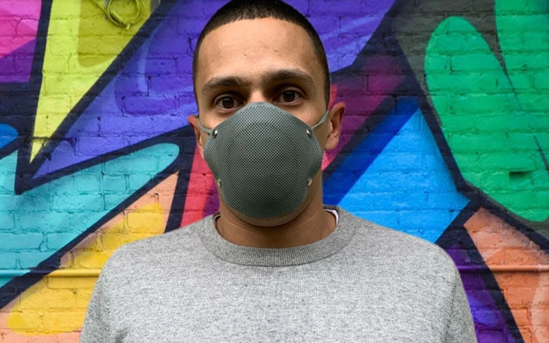 Reusable Silicone Mask with Filter