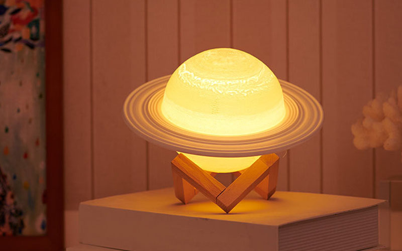 Saturn Night Lamp Light For Bedroom and Office
