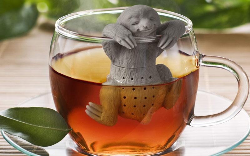 Sleepy Silicone Sloth Tea Infuser