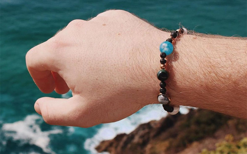 Solar System Miniverse Bracelet For Men & Women