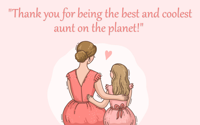 Thank You, Aunt