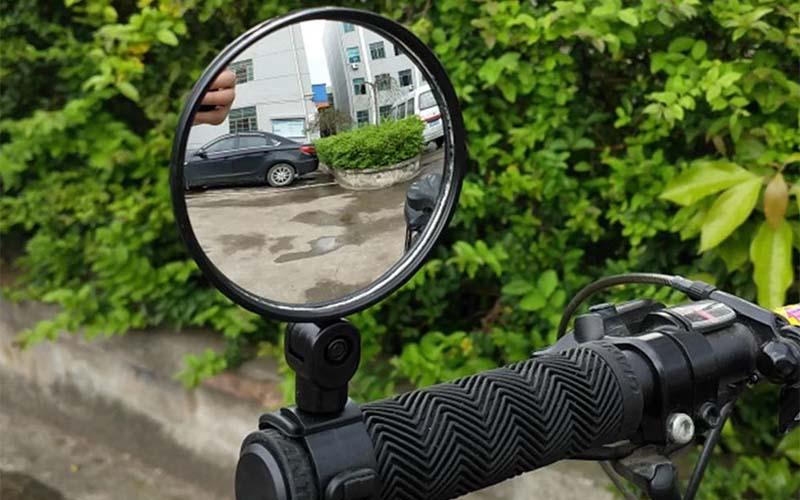 Universal 360 Degree Rotating Bicycle Rear View Mirror