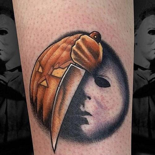 A Mysterious Pumpkin Faced Man