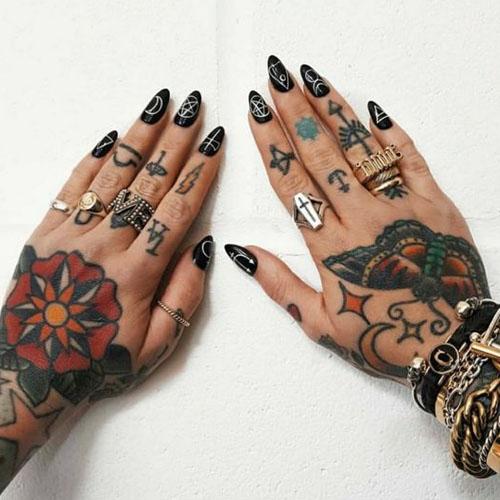 All Fingers & Hands Tattoo