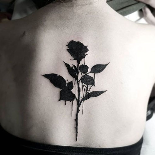 Black Bleeding Rose