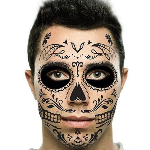 Cover Up Your Face With Tattoo