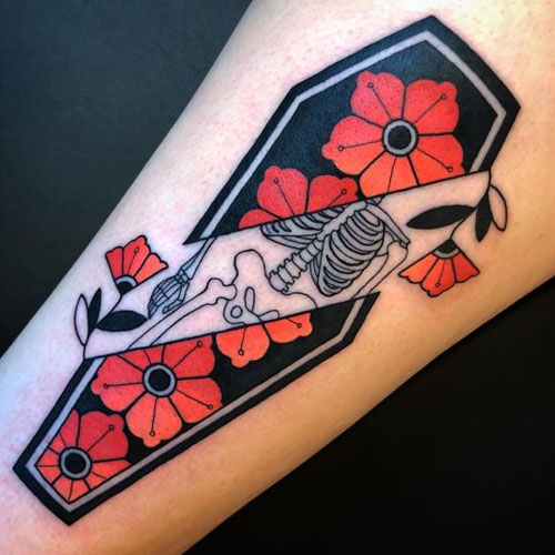 Flowers In The Coffin