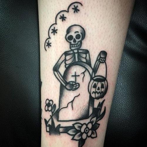 Ghostface Tattoo