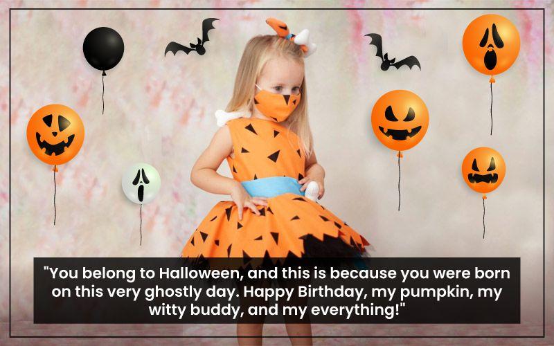 Halloween Birthday greetings