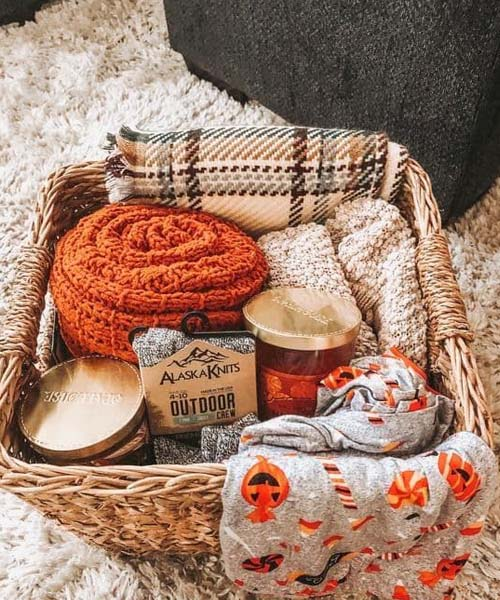 Halloween basket for new mother