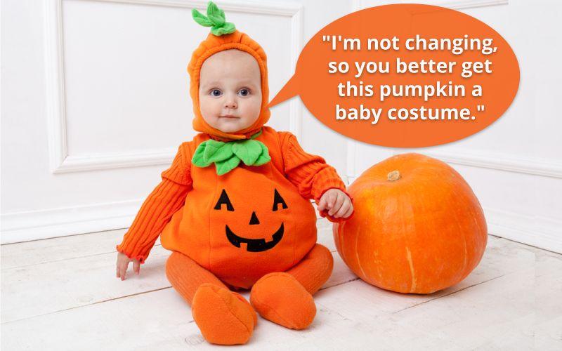 Halloween pumpkin greetings