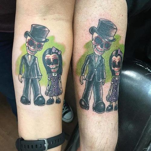 Happy Ghost Couple