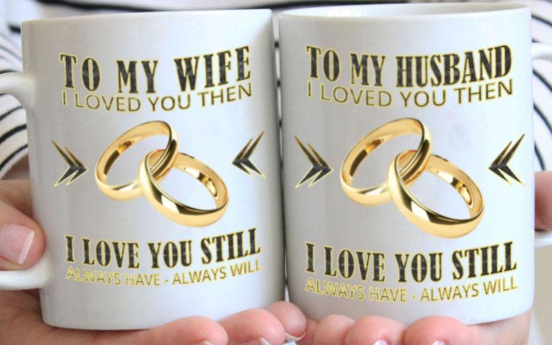 Husband & Wife Mugs