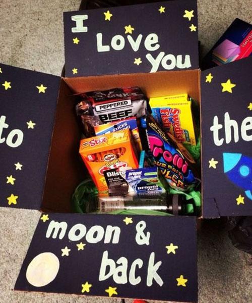 I love you Halloween basket for GF
