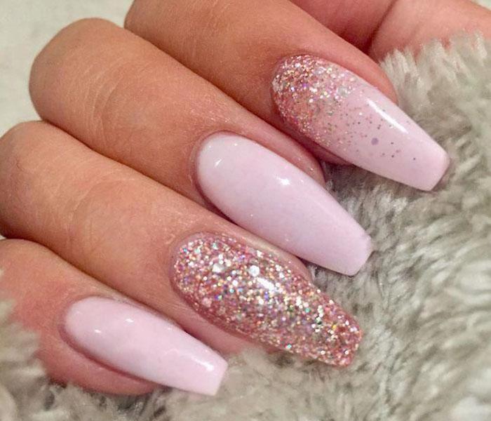 Baby Pink Glitter