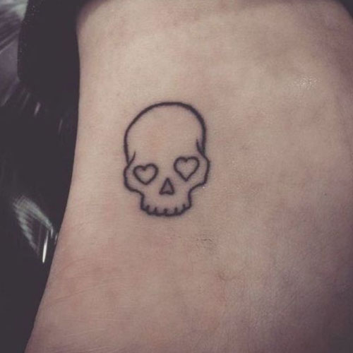 Lovely Skeleton Face