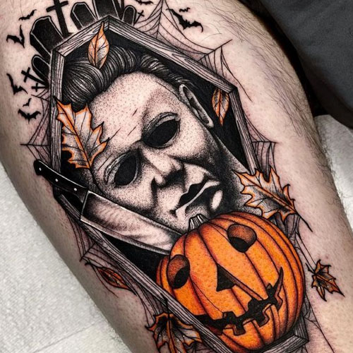 Michael Myers In Coffin