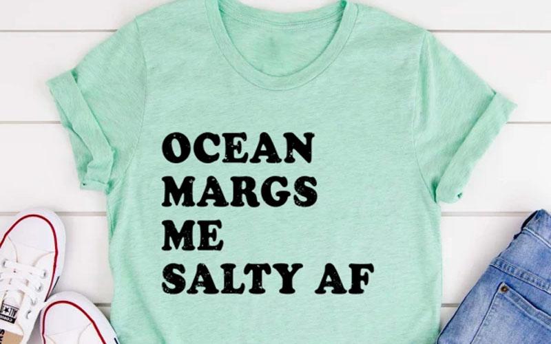 Ocean Margs Me Salty AF Tee