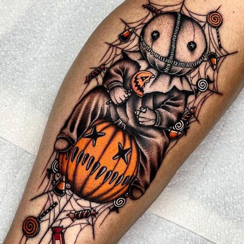 Pumpkin Hiding Treats