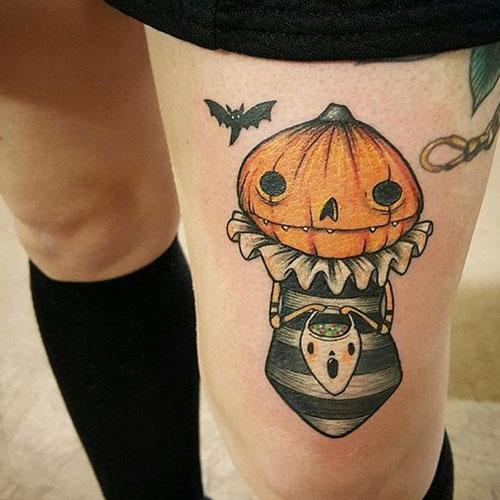 Pumpkin With A Mask