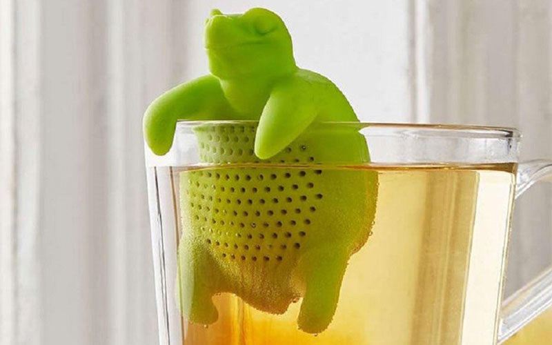 Reusable Silicone Turtle Tea Infuser
