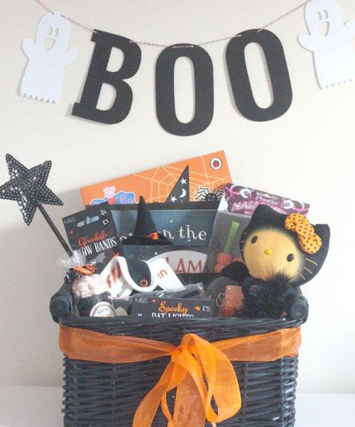 Cute Tweety Boo Basket