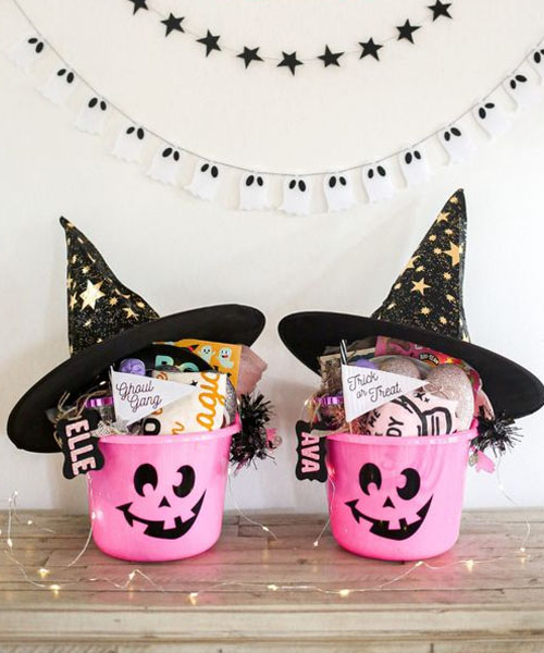 Pinkie Bucket for Halloween Gifts