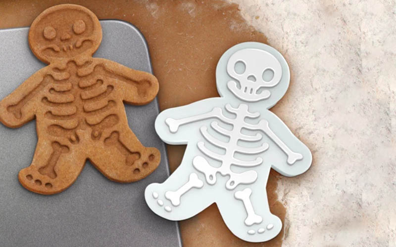 Skeleton Shaped Cookies Is For All Sweet Tooths