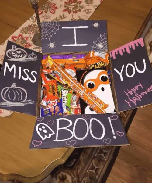 Spooktacular Halloween care package