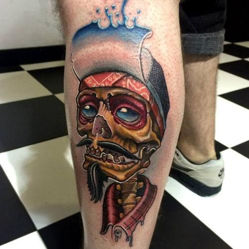 The Dreadful Glare Of Skeleton