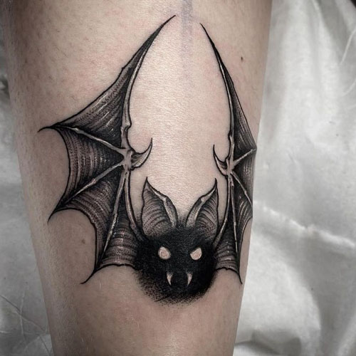 The Eye-Widening Bat