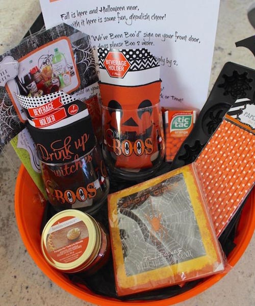 Youve been booed Halloween basket for your boo
